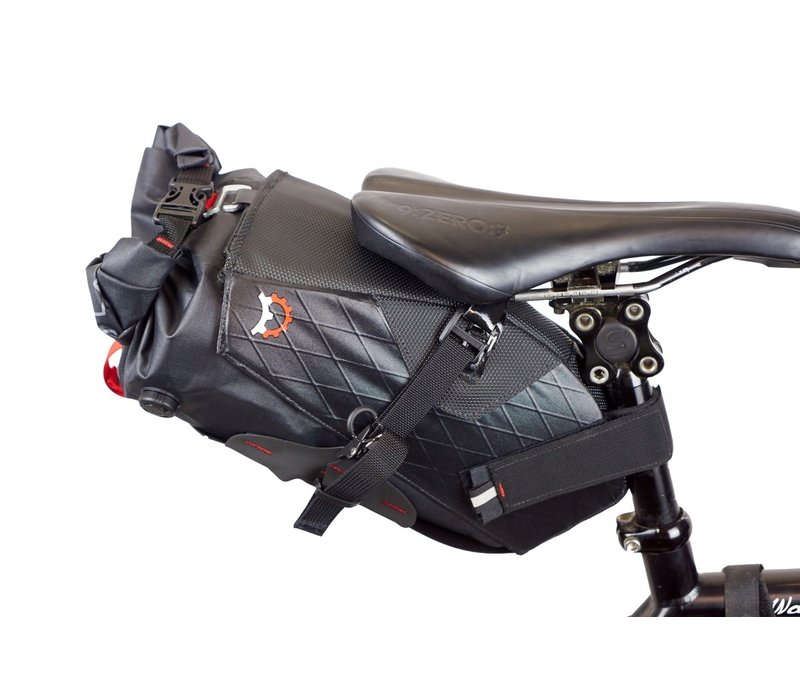 Revelate Designs Terrapin System Seat Bag: 8L, Black