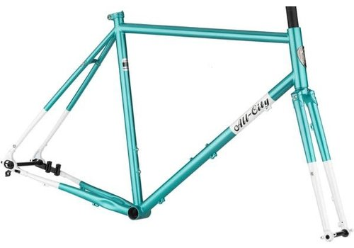 All-City All-City Super Professional Frameset - 700c / 650b, Steel, Blue Panther, 55cm