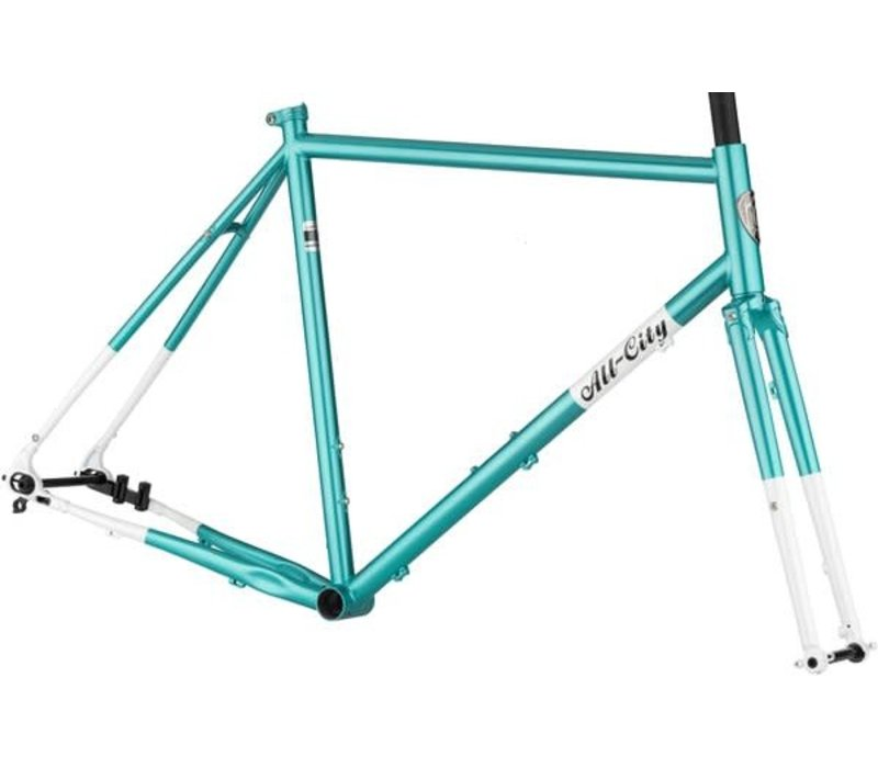All-City Super Professional Frameset , Blue Panther, 55cm