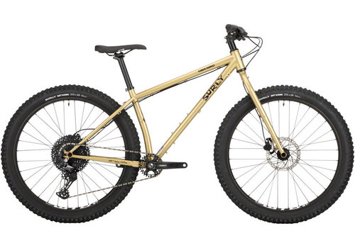 "Surly Surly Karate Monkey Bike - 27.5"", Steel, Fool's Gold, Small"