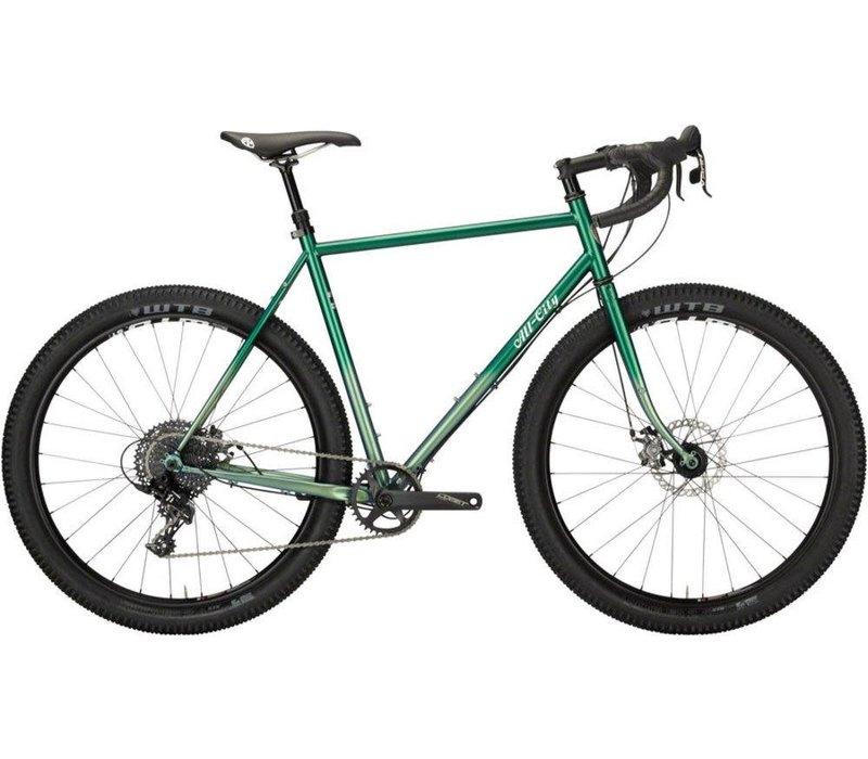 All-City Gorilla Monsoon 55cm Green Fade