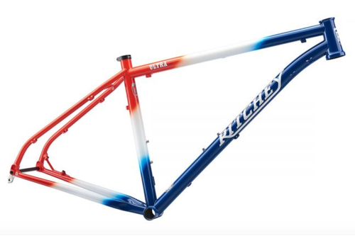 Ritchey Ritchey Ultra Frame Set ,Large,Team Edition with Chris King Navy Headset