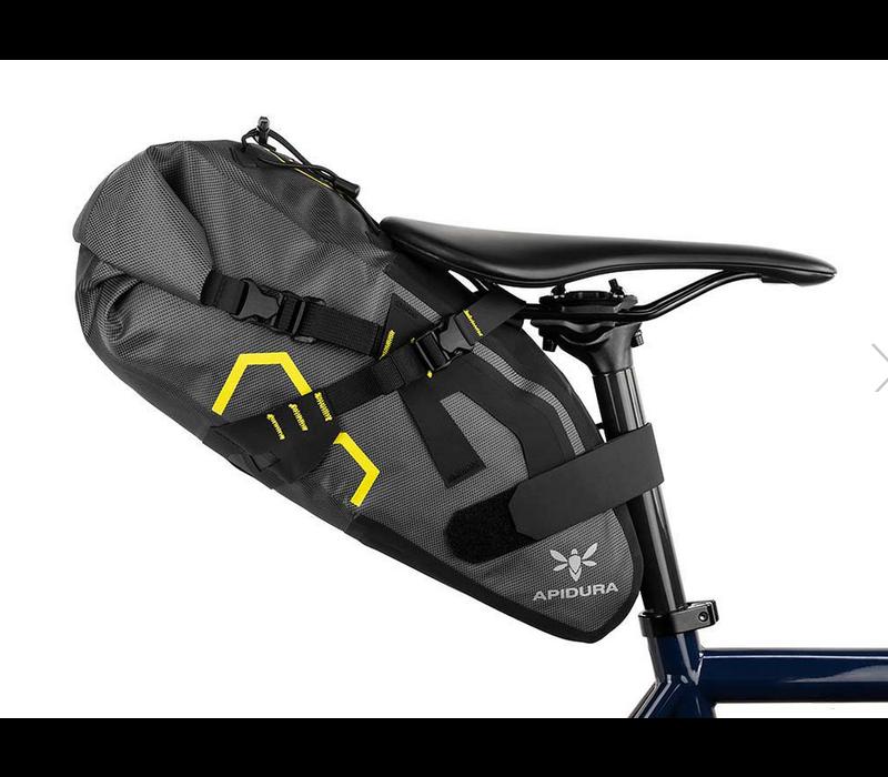 Apidura Expedition Saddle Pack, Large - Grey/Black