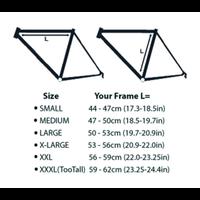 Silca Impero Ultimate Frame Pump, Large