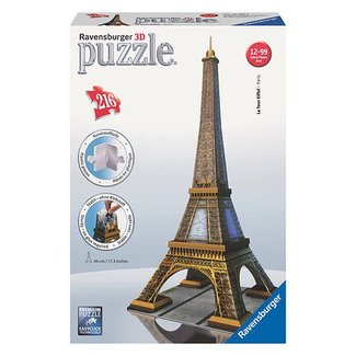 Ravensburger Eiffel Tower (216 pc 3D Puzzle)