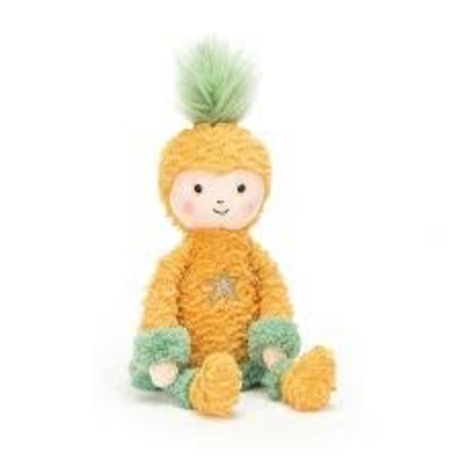 Jellycat Perkies Pineapple Princess Doll