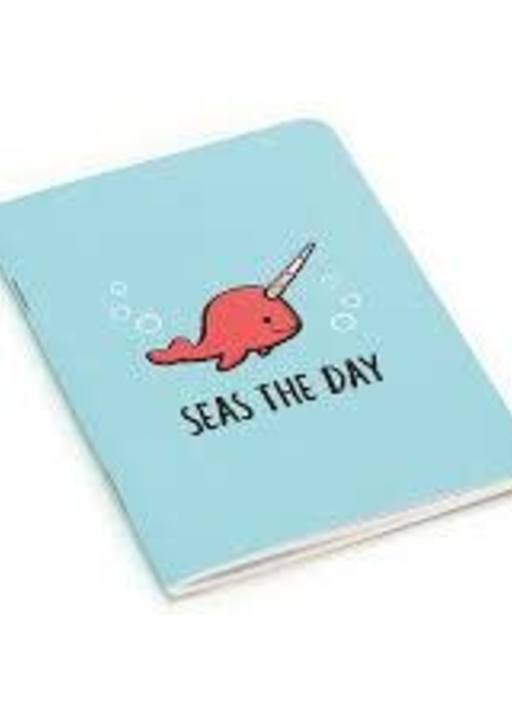 Jellycat Seas The Day Aqua Notepad Mini