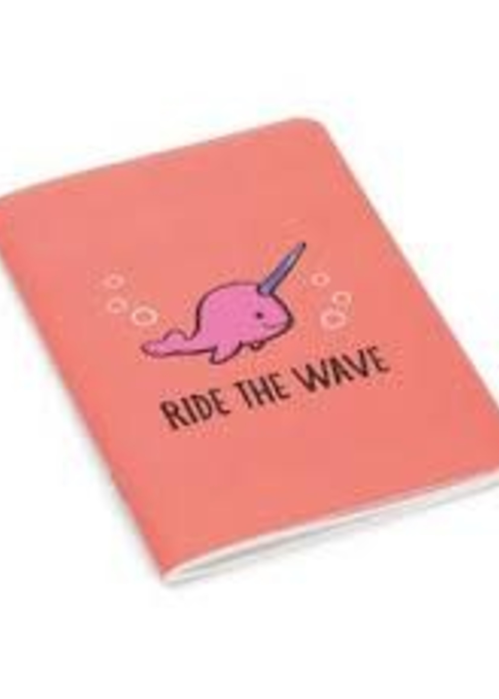 Jellycat Seas The Day Coral Notepad Mini