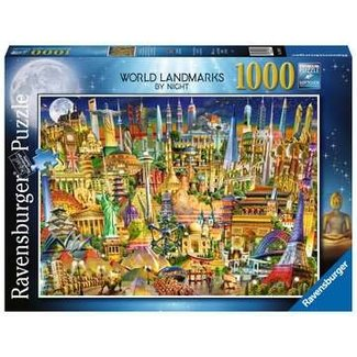 Ravensburger World Landmarks by Night ( 1000pc)