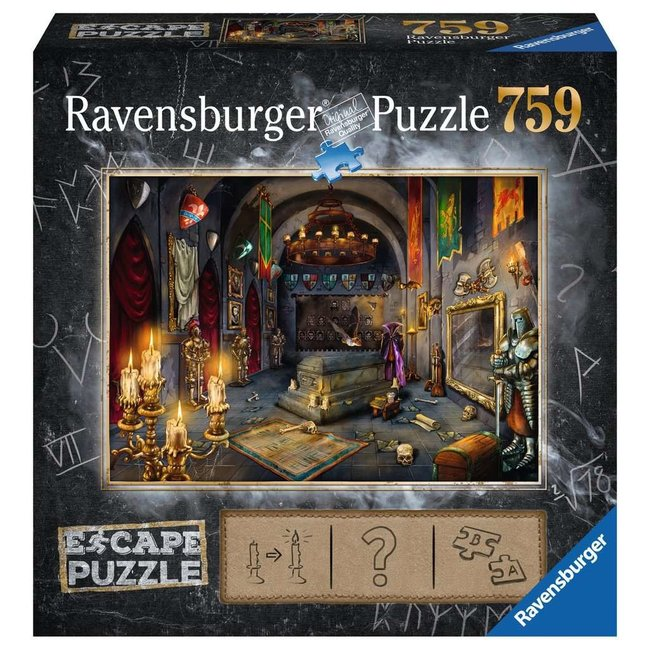 Ravensburger Vampire's Castle ( 759 pc Escape Puzzle)