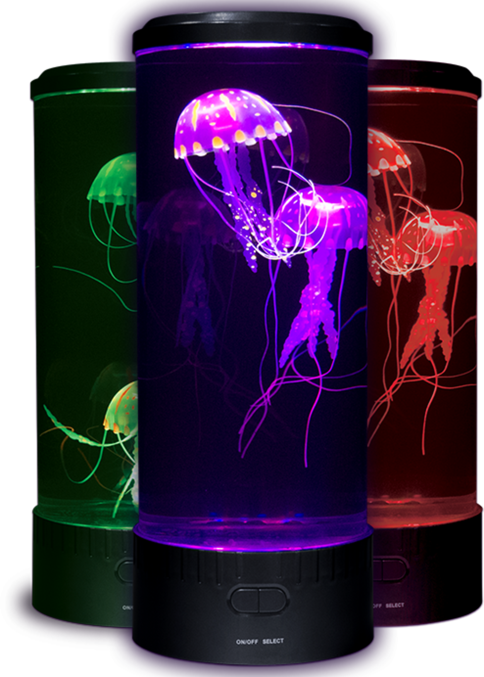 """Electric Jellyfish Mood Light - Plugs In (Dimensions: 14""""High x 5""""Round)"""