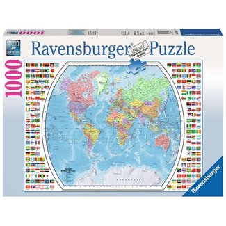 Ravensburger Political World Map (1000pc)
