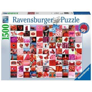Ravensburger 99 Beautiful Red Things ( 1500 pc.)