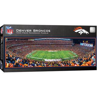 Master Pieces Denver Broncos 1000pc Panoramic Puzzle