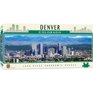 Master Pieces American Vistas - Denver 1000pc Panoramic Puzzle
