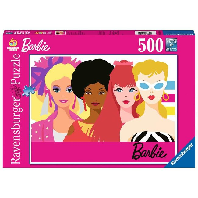 Ravensburger Barbie's 60th Anniversary (500pc)