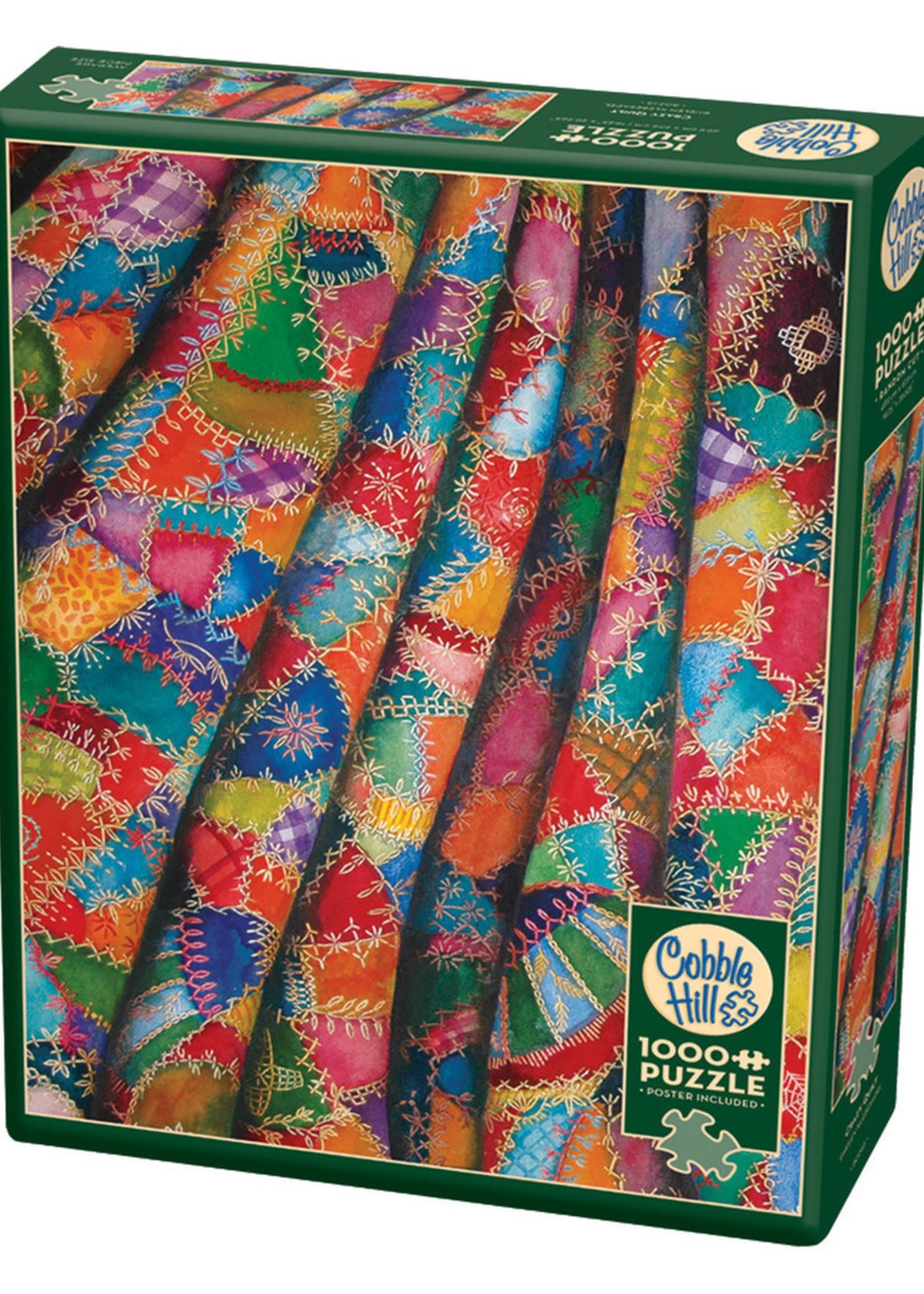 Cobble Hill Crazy Quilt (1000pc)
