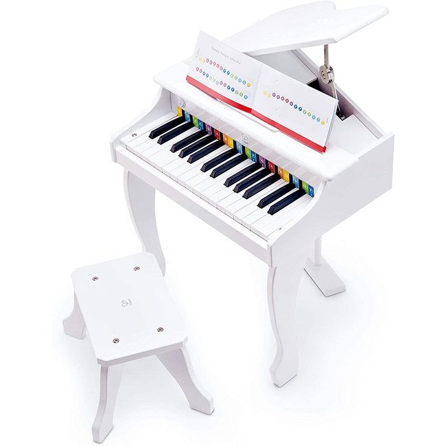 Hape Mini Grand Piano (White)