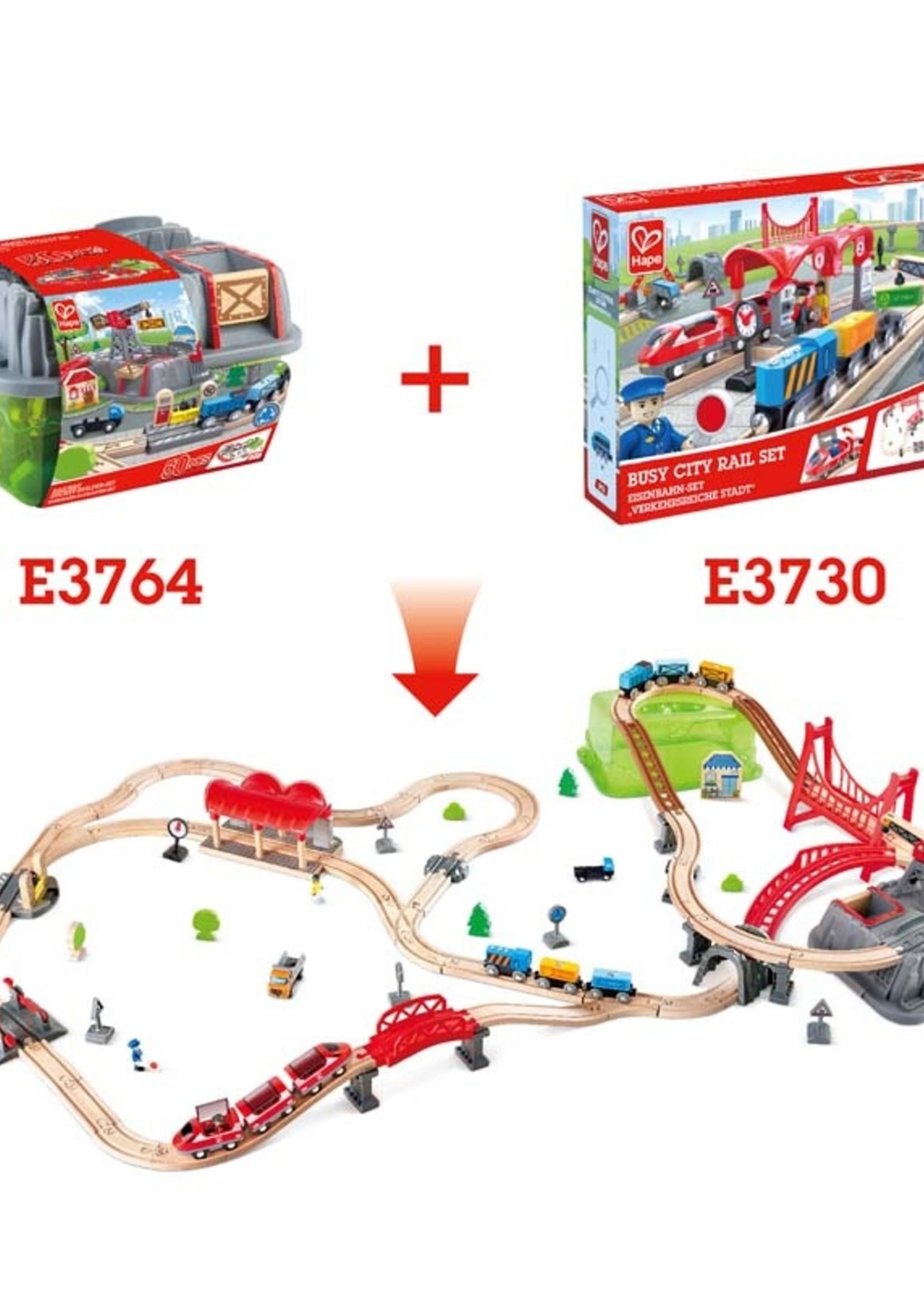 Hape Railway Bucket-Builder-Set DS