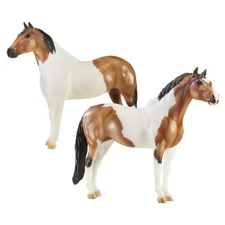 """Breyer The """"Gangsters"""" Tony the Pony and Bugsy"""