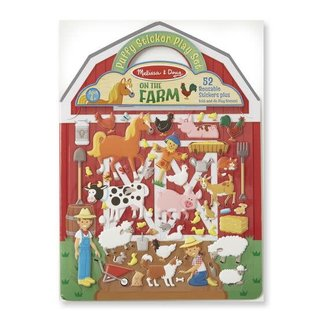 Melissa & Doug Puffy Sticker Play Set - Farm