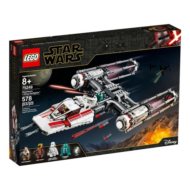lego Resistance Y-Wing Starfighter