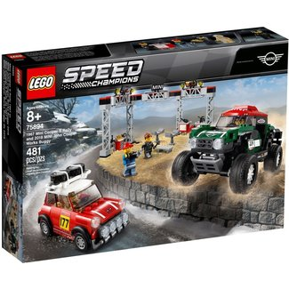 lego 75894 1967 Mini Cooper S Rally and 2018 MINI J