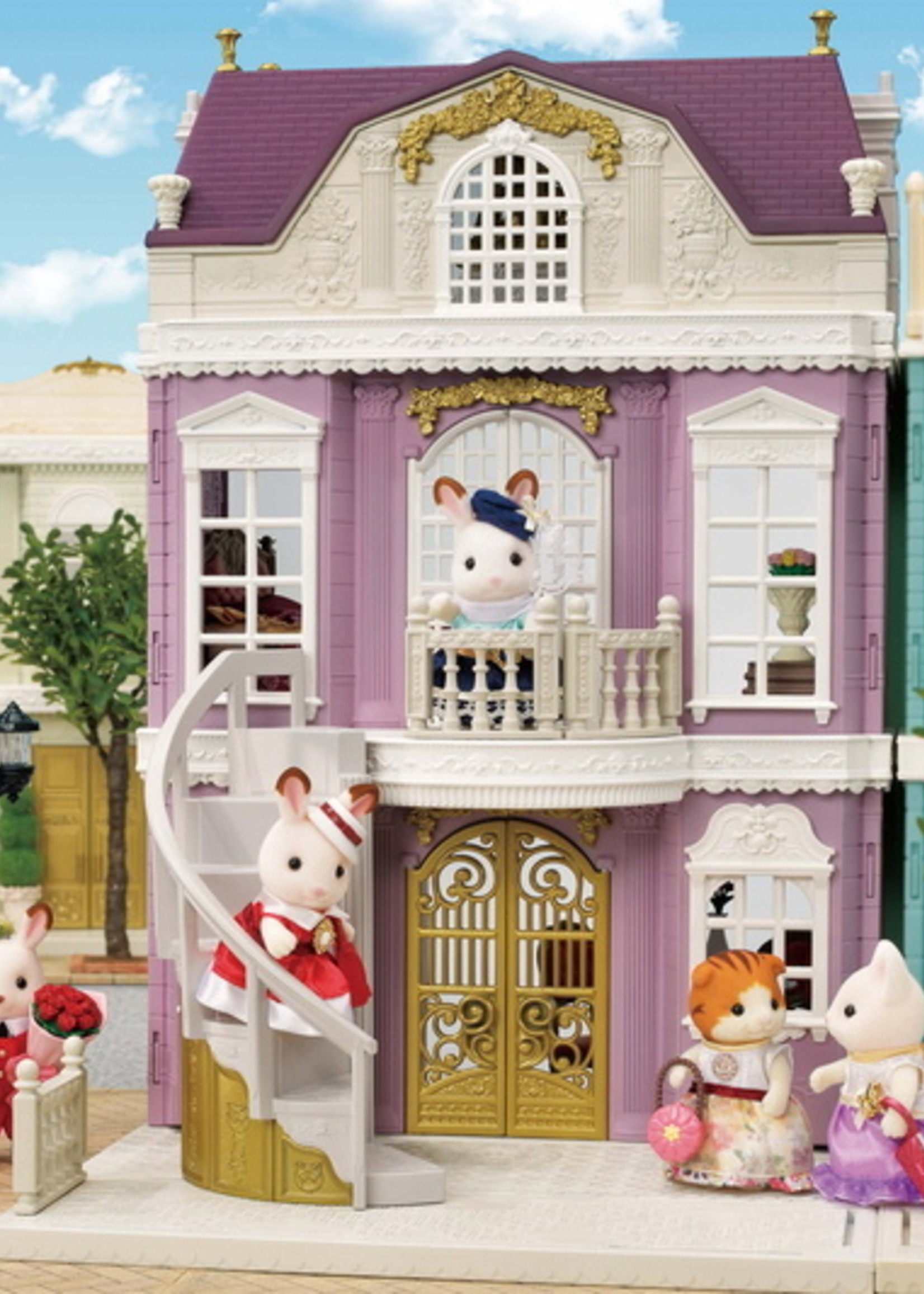 Calico Critters Elegant Town Manor Gift Set