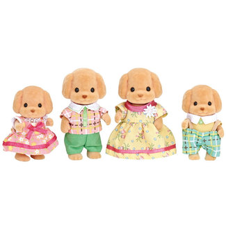 Calico Critters Toy Poodle Family