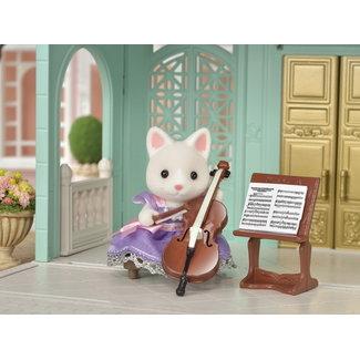 Calico Critters Cello Concert Set