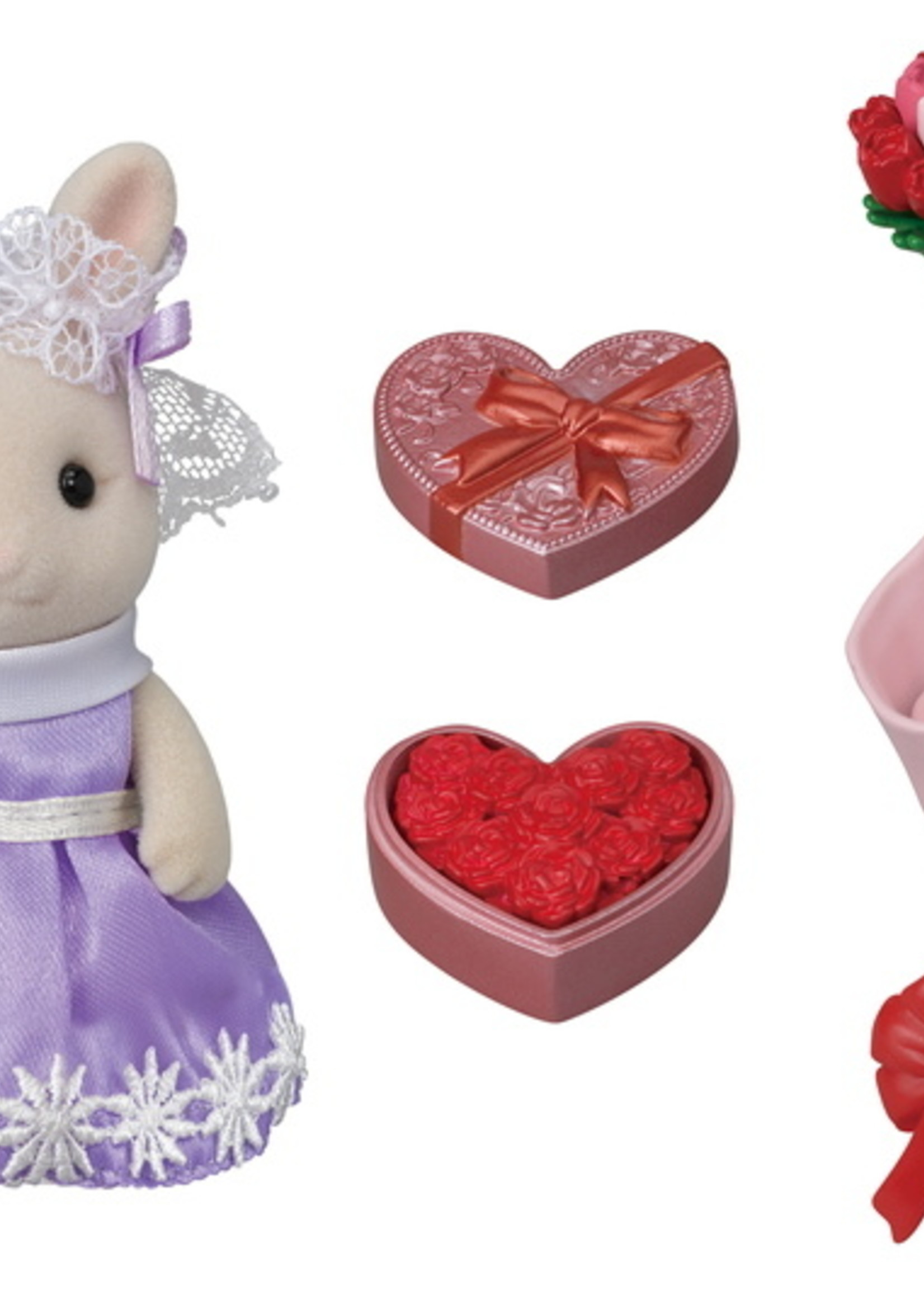 Calico Critters Flower Gifts Playset
