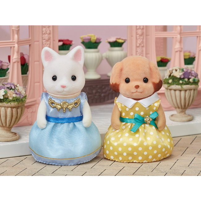 Calico Critters Dress Up Set (Light Blue & Yellow)