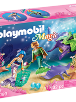 Playmobil Pearl Collectors with Manta Ray