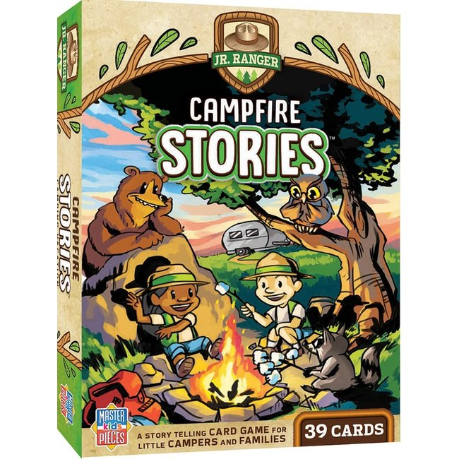 Master Pieces Jr Ranger - Campfire Stories Kids Card Game