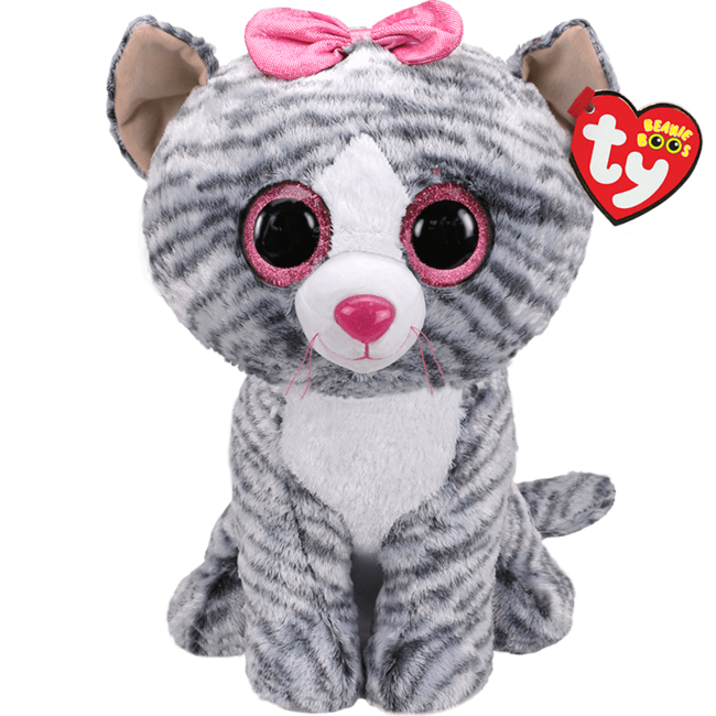 TY KIKI - grey cat large