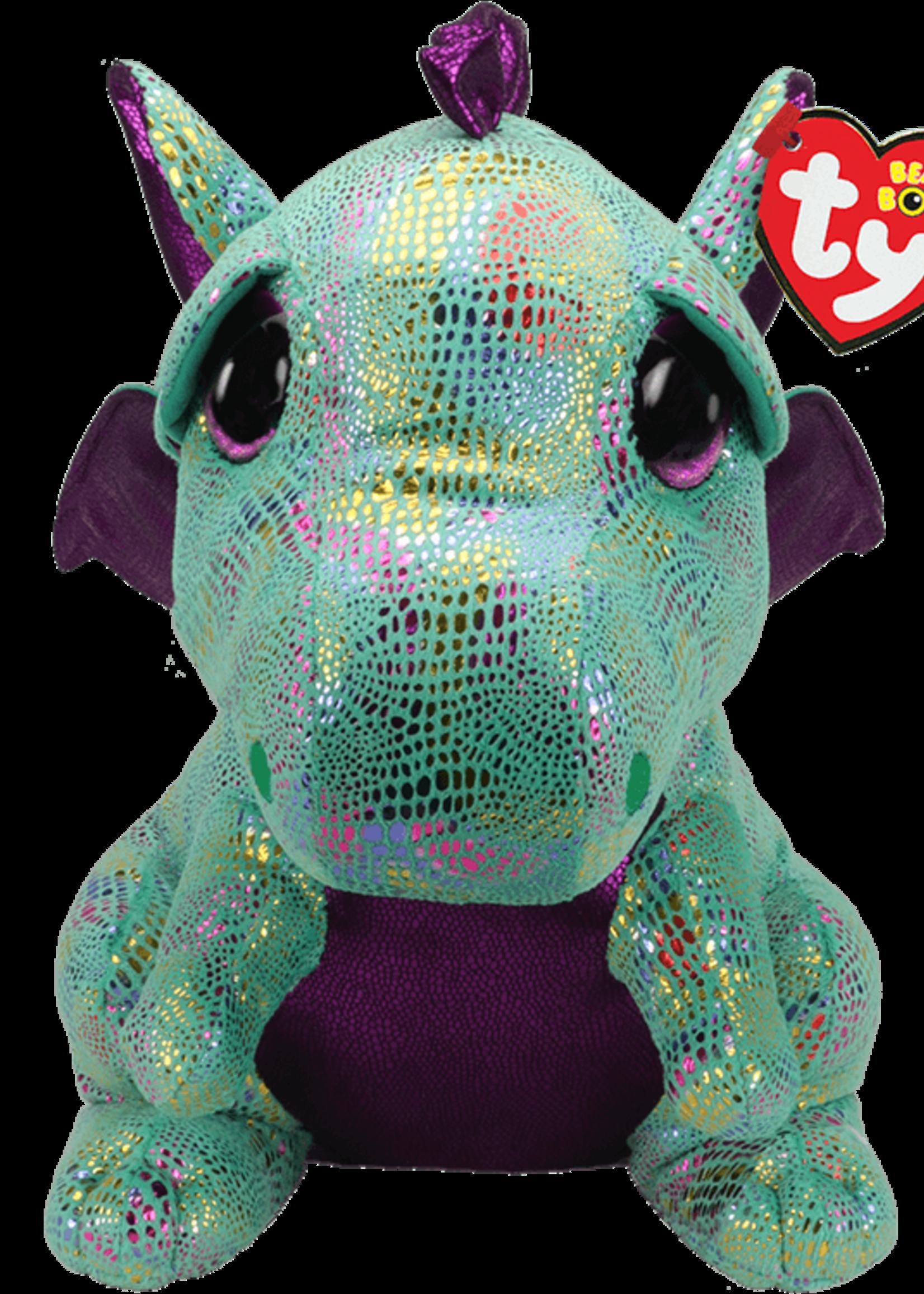 TY CINDER - green dragon large