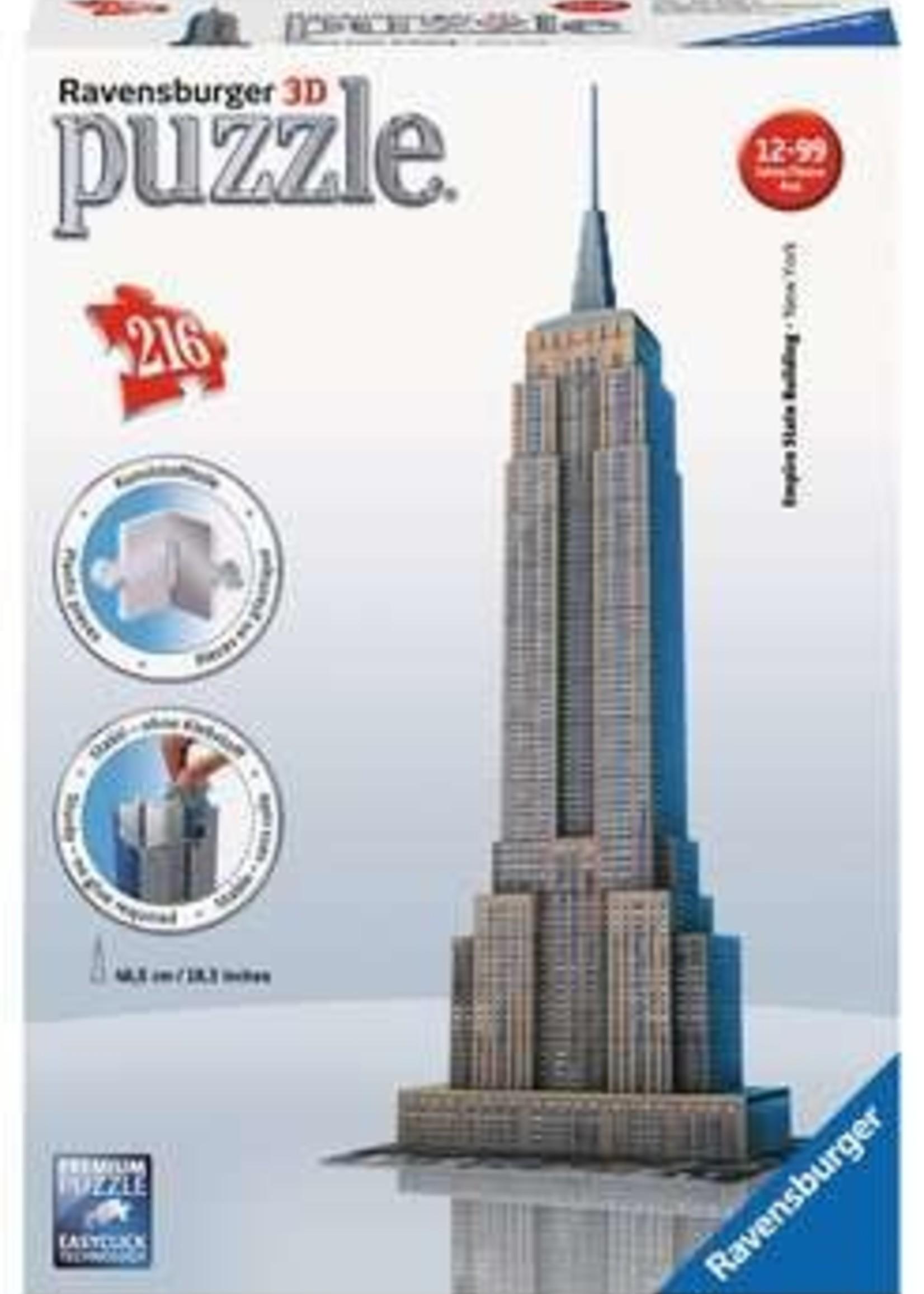 Ravensburger Empire State Building (216 pc Puzzle)