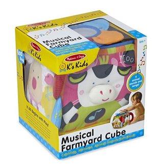 Melissa & Doug Musical Farmyard Cube