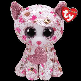 TY Cupid - cat sequin polka dot reg (new)