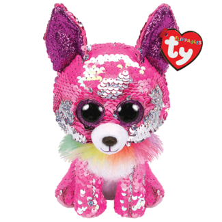 TY Charmed - chihuahua sequin pin (new)