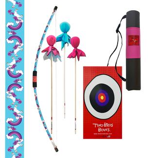 two bros bows Unicorn Archery Combo Set