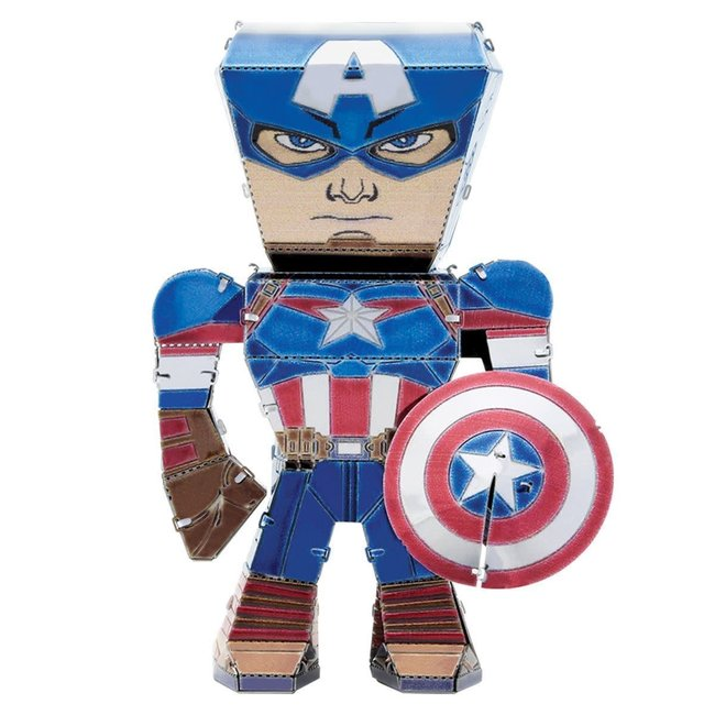 METAL EARTH Captain America - Marvel