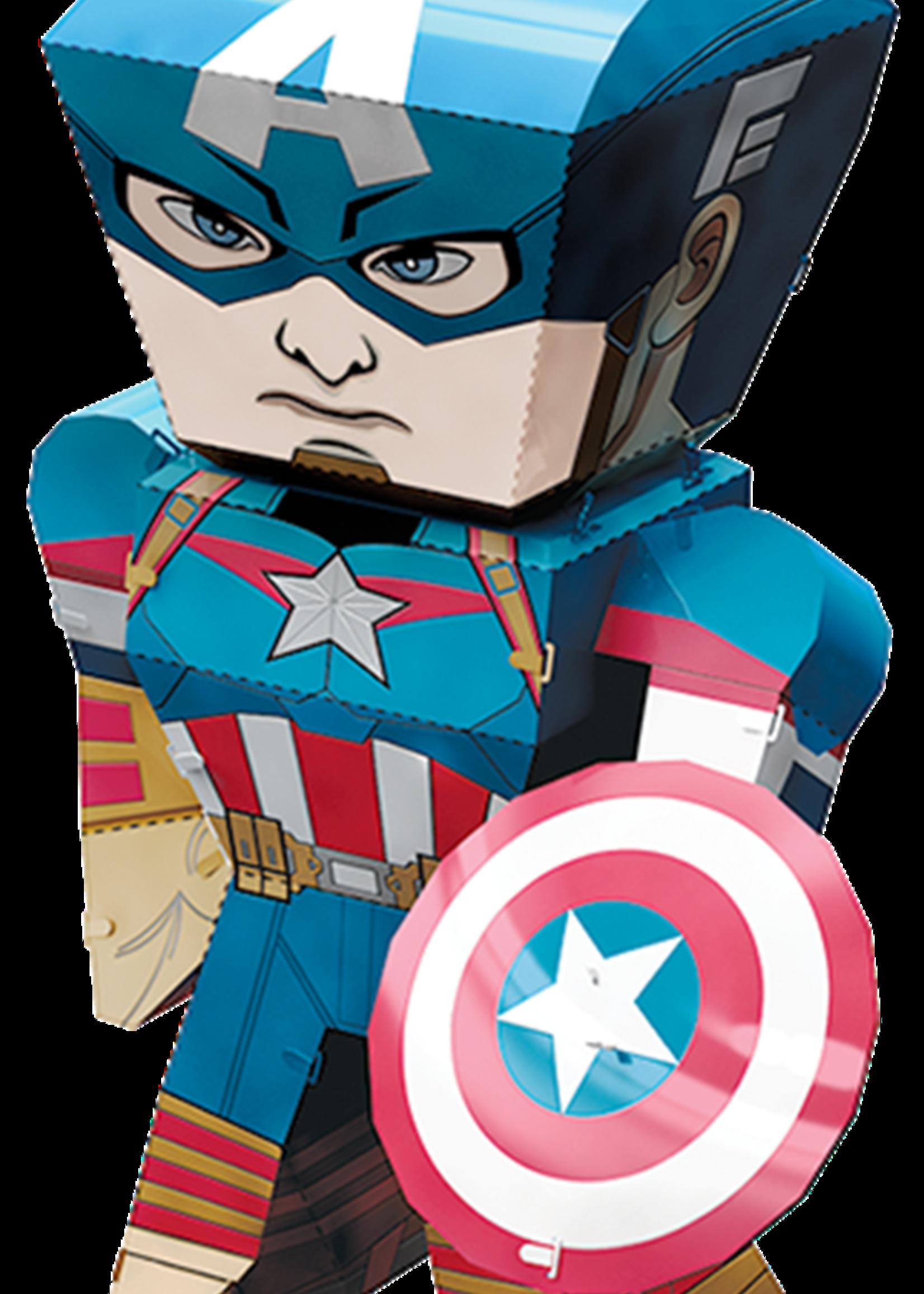 METAL EARTH Captain America - Marvel