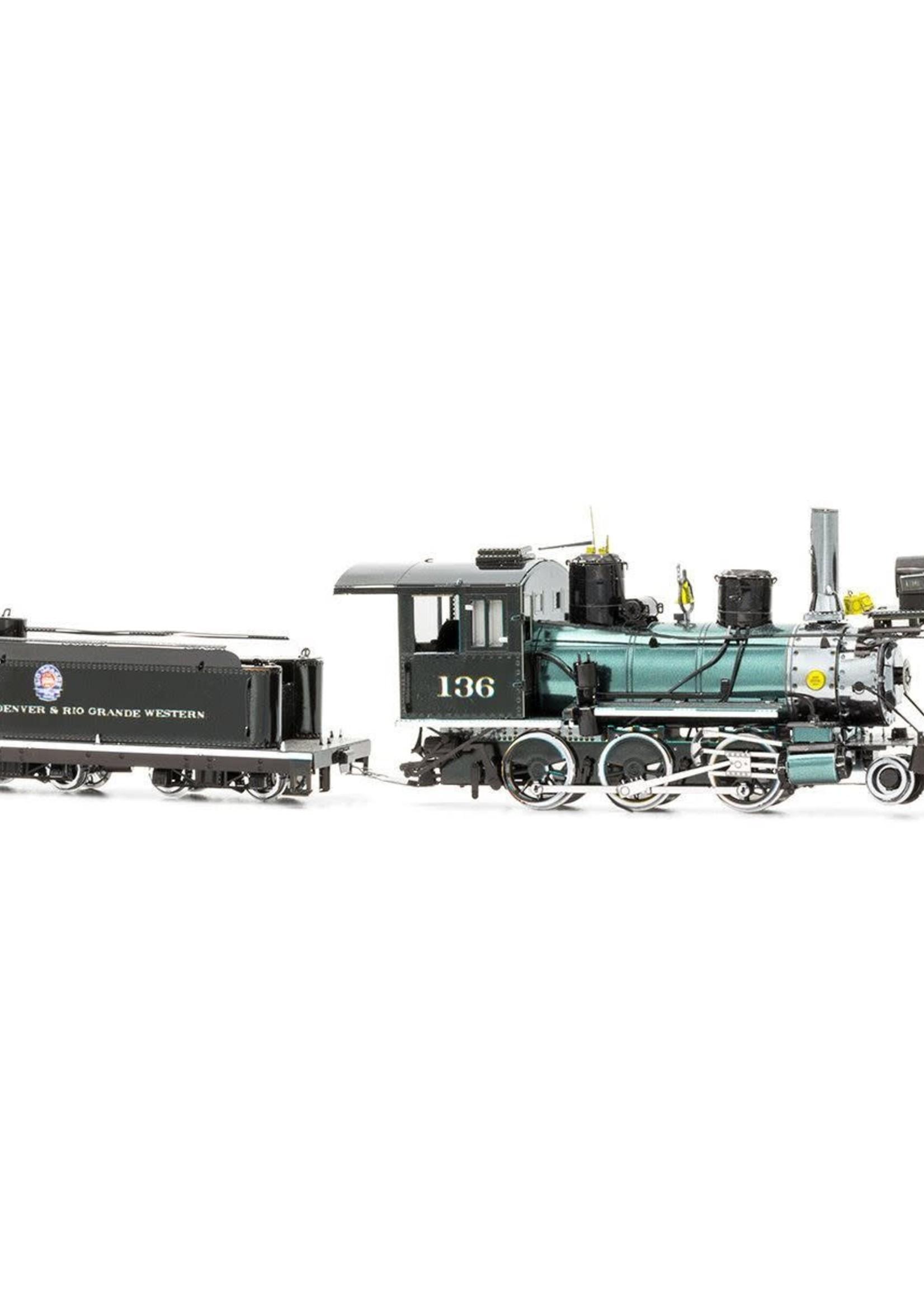 METAL EARTH Wild West 2-6-0 Locomotive - COLOR