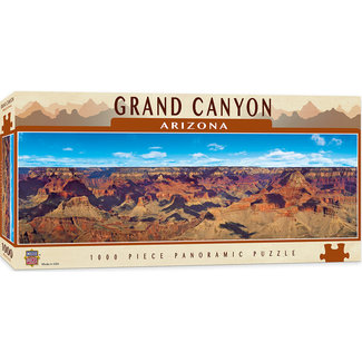 Master Pieces American Vistas - Grand Canyon 1000pc Panoramic Puzzle