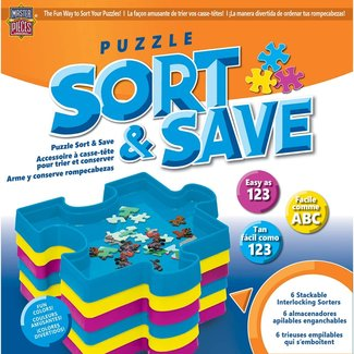 Master Pieces Puzzle Accessories - MasterPieces Puzzle Sort & Save
