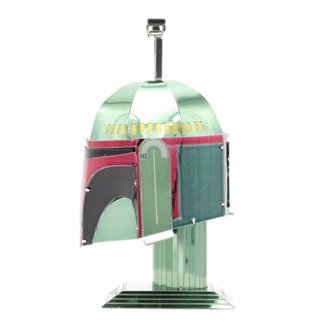 METAL EARTH Boba Fett Helmet - COLOR Star Wars