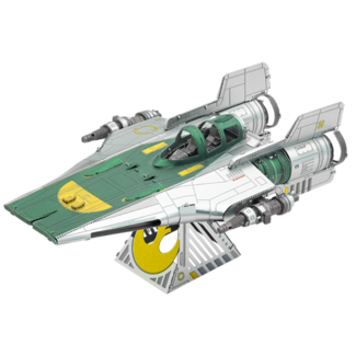 METAL EARTH Resistance A-Wing Fighter - Rise of Skywalker COLOR Star Wars