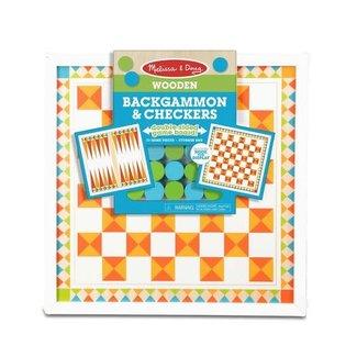 Melissa & Doug Backgammon & Checkers