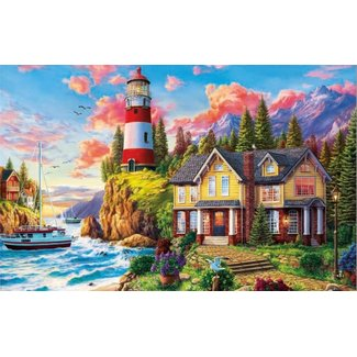 Educa Lighthouse Near The Ocean 3000pc